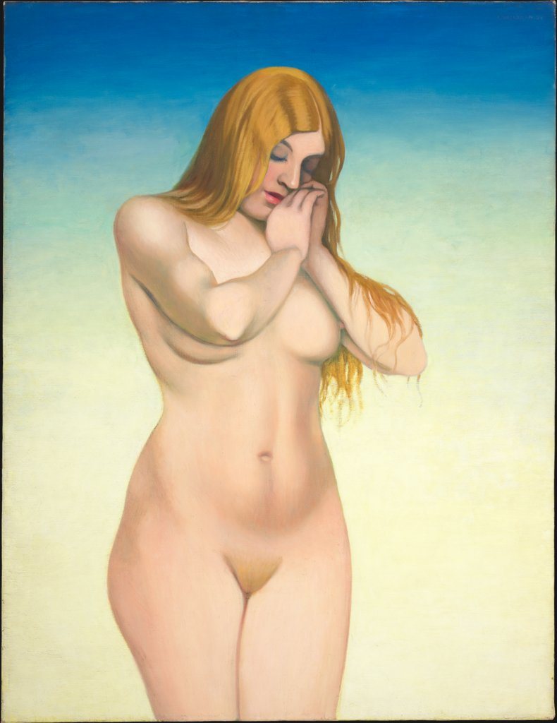 Blonder Akt, Félix Vallotton