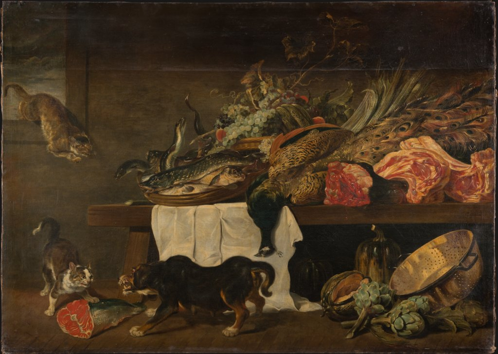 Pantry with Game, Peeter Snyers
