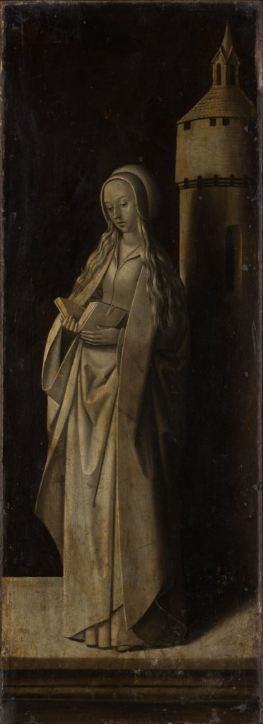 St Barbara, Master of the Morrison Triptych