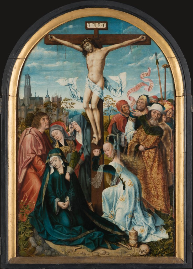 The Crucifixion of Christ, Master of Frankfurt
