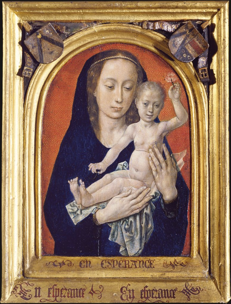 Virgin and Child, Hugo van der Goes