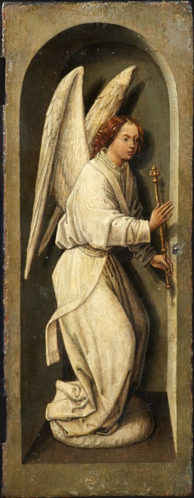 Angel of the Annunciation, Bruges (?) Master ca. 1485/90