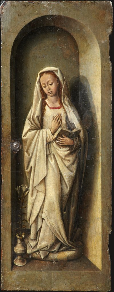 Virgin of the Annunciation, Bruges (?) Master ca. 1485/90