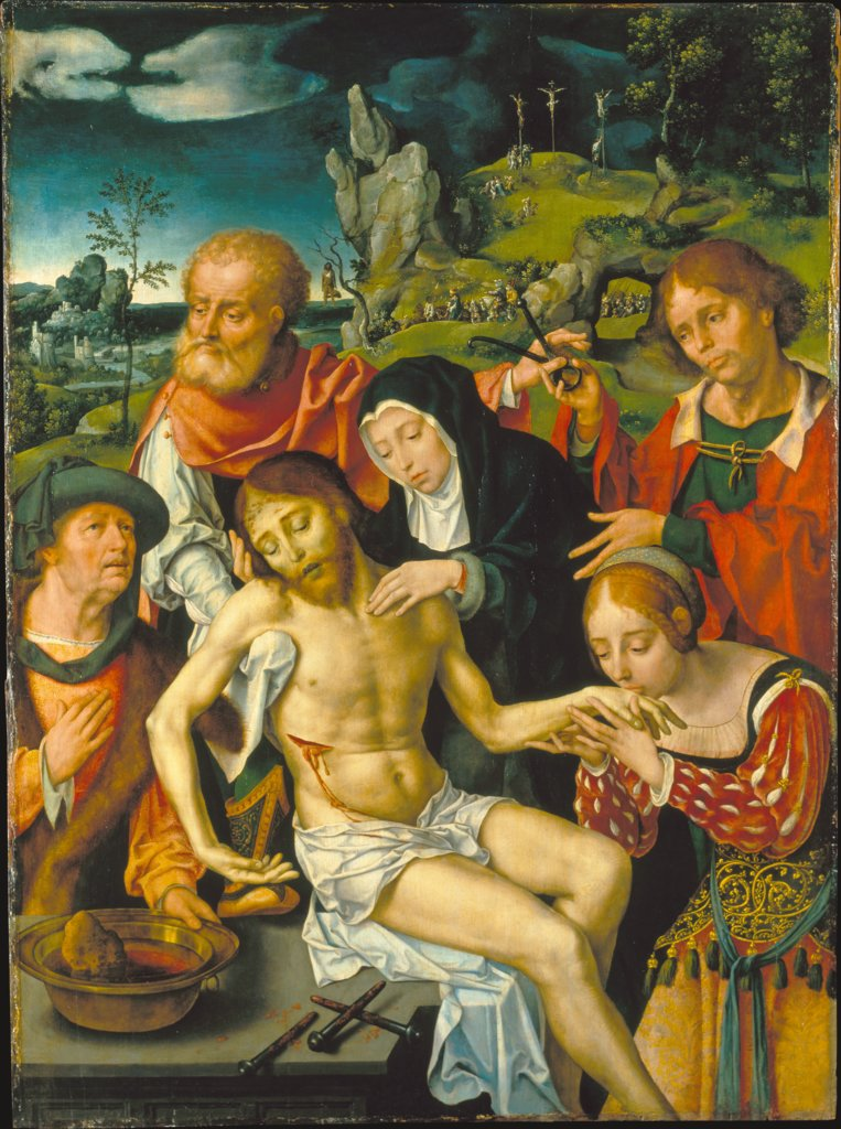 Lamentation of Christ, Joos van Cleve