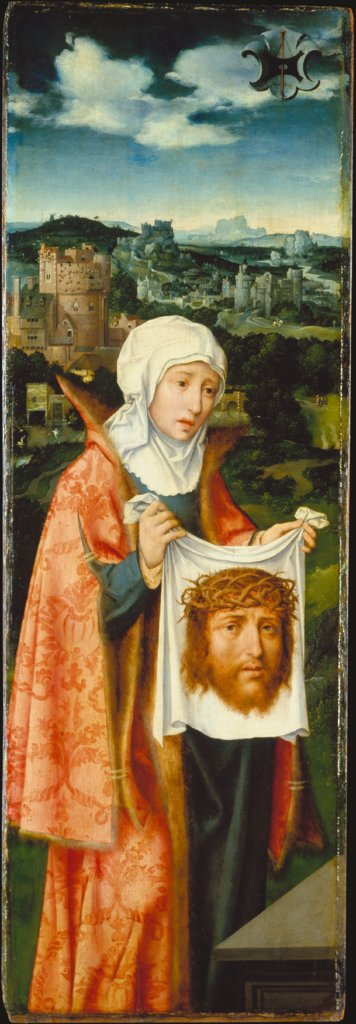 Saint Veronica Displaying the Sudarium, Joos van Cleve