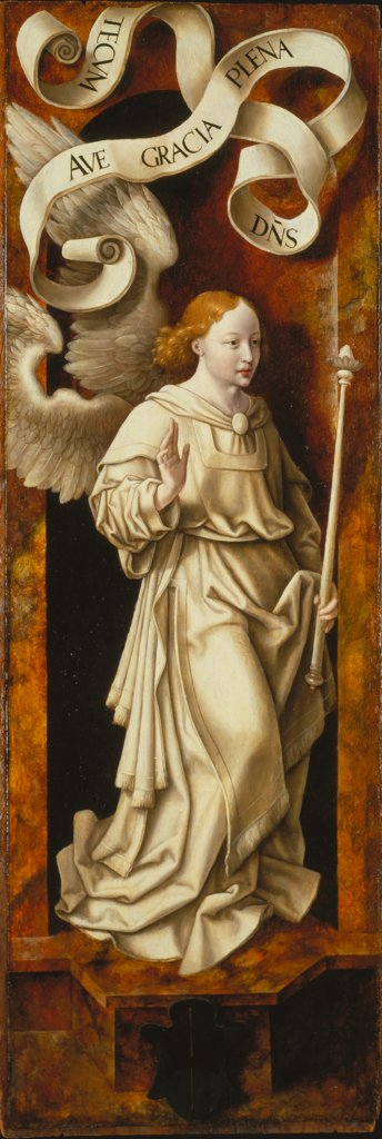 Angel of the Annunciation, Joos van Cleve