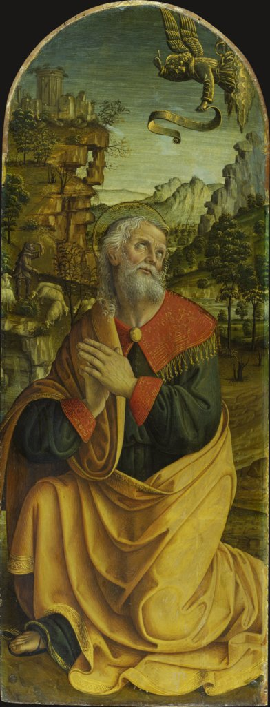 The Annuciation to St Joachim, Macrino d'Alba