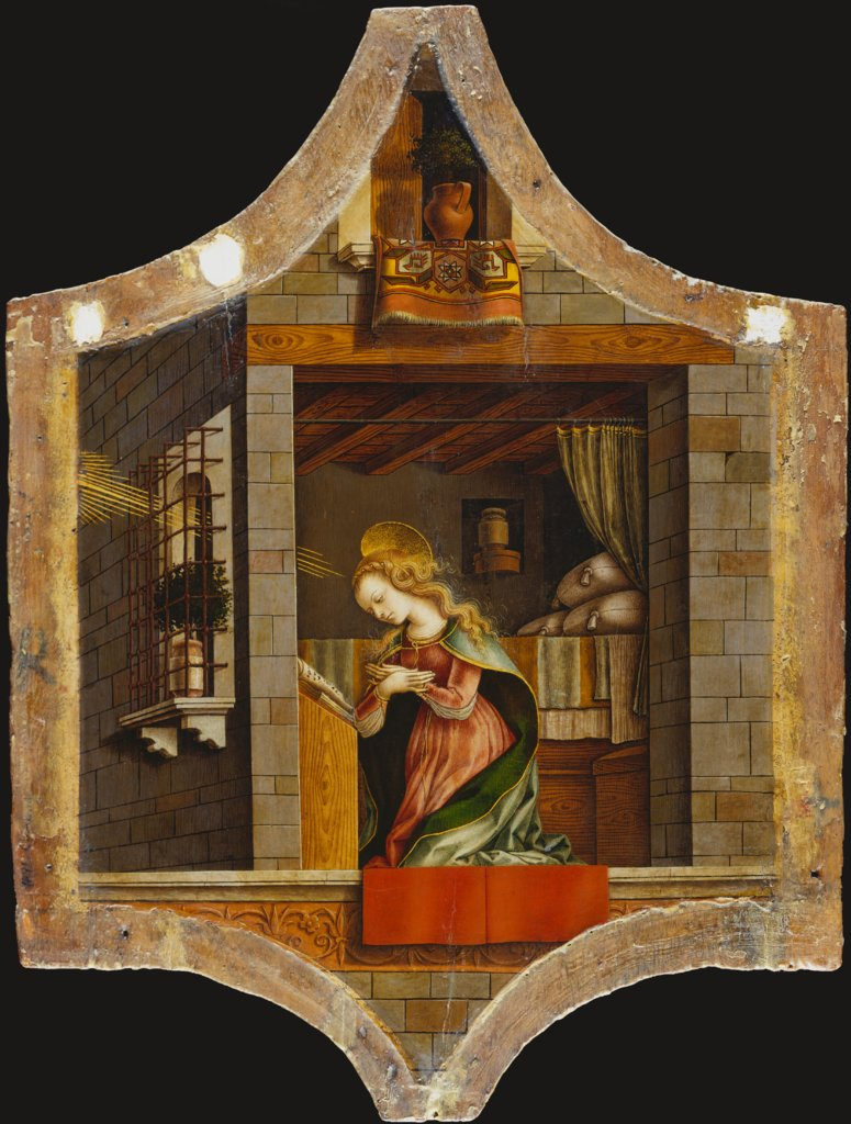 The Virgin Annunciate, Carlo Crivelli