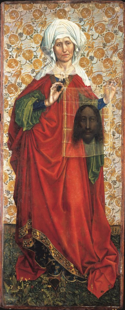 Saint Veronica, Master of Flémalle, Robert Campin  workshop