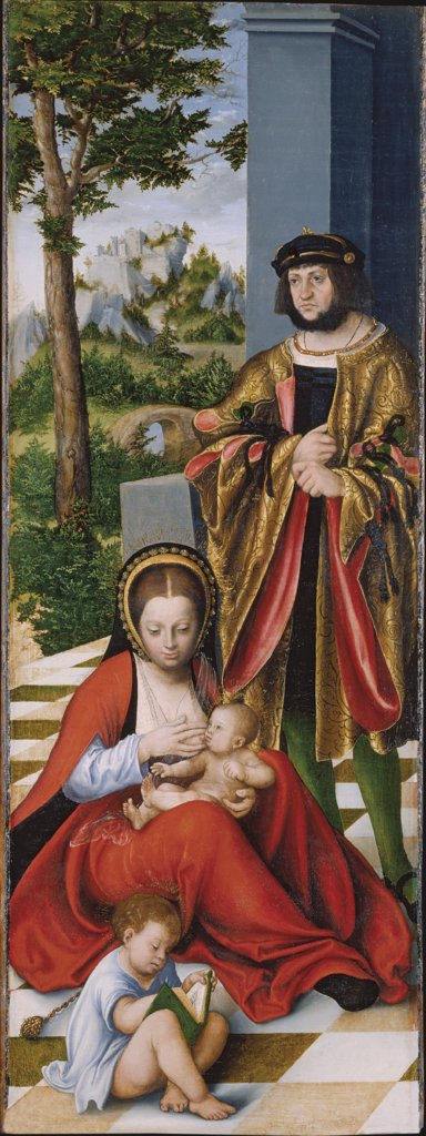 Mary Cleophas and Alphaeus (with the features of Frederick the Wise) with two of their sons, Lucas Cranach the Elder