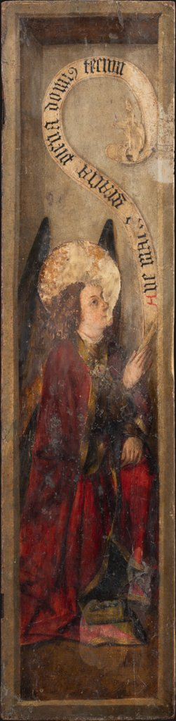 Annunciation Angel, Jacomart, Juan Rexach  workshop
