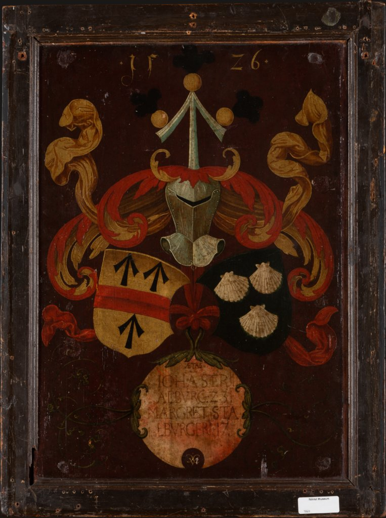 Alliance Coat of Arms Stralenberg/Stalburg, Conrad Faber von Kreuznach