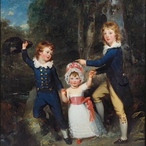 Bildnis der Kinder des Lord George Cavendish, Thomas Lawrence