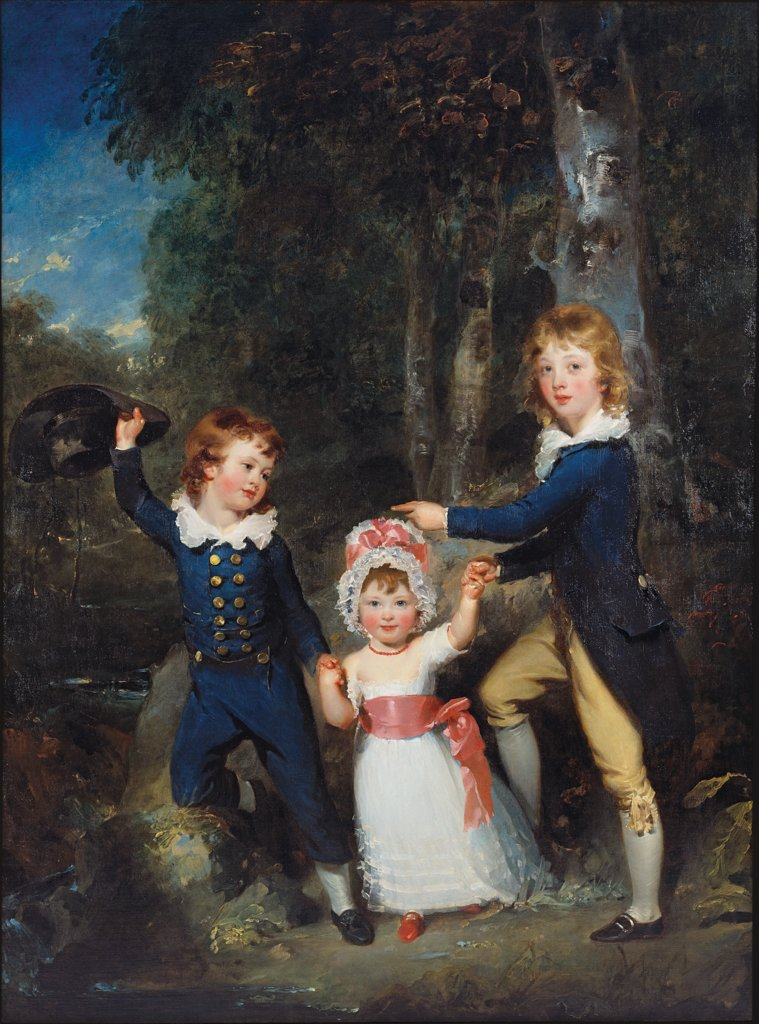 Portrait of the Children of Lord George Cavendish, Thomas Lawrence