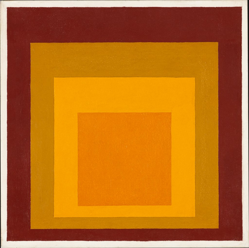Study for Homage to the Square: High Autumn, Josef Albers
