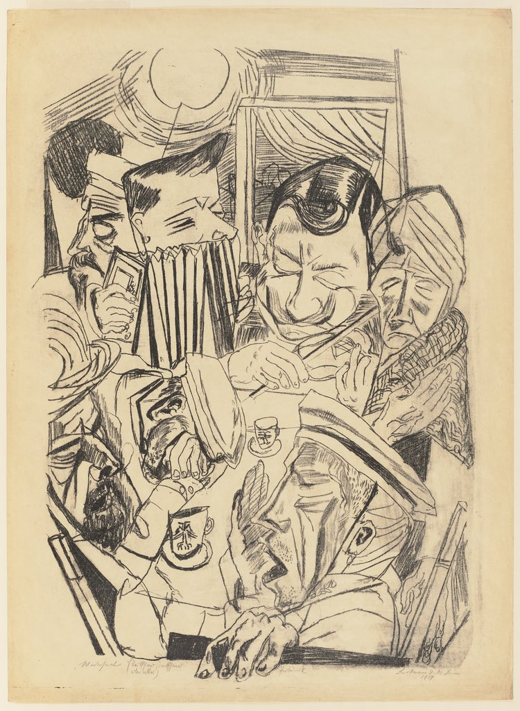 The Patriotic Song, Max Beckmann