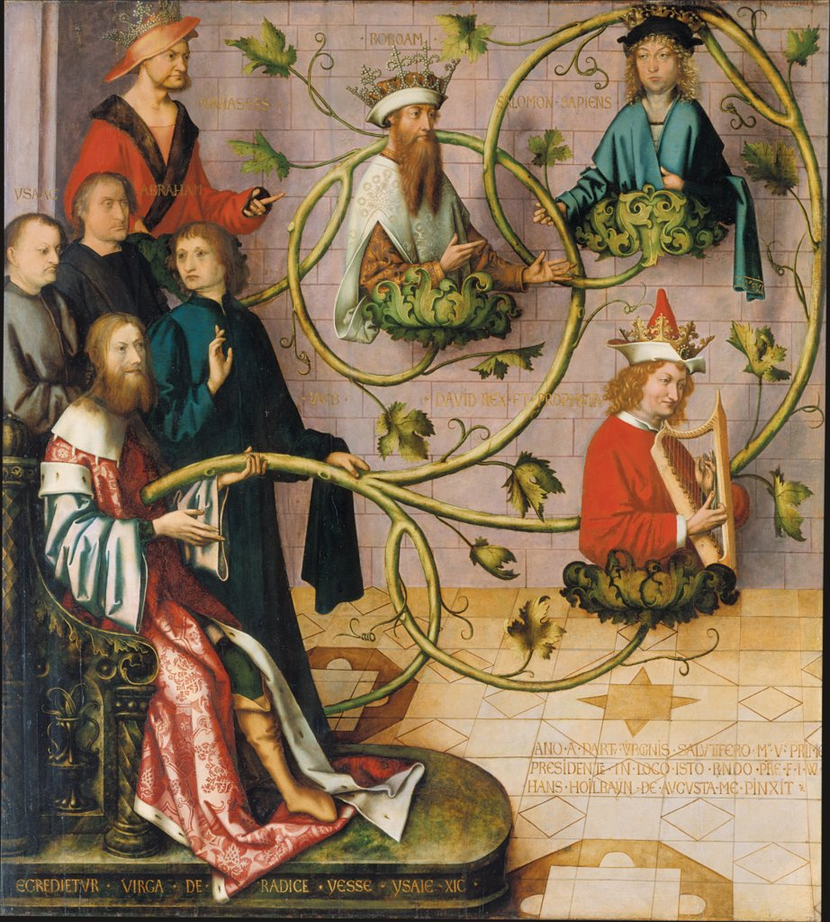 Tree of Jesse, Hans Holbein the Elder