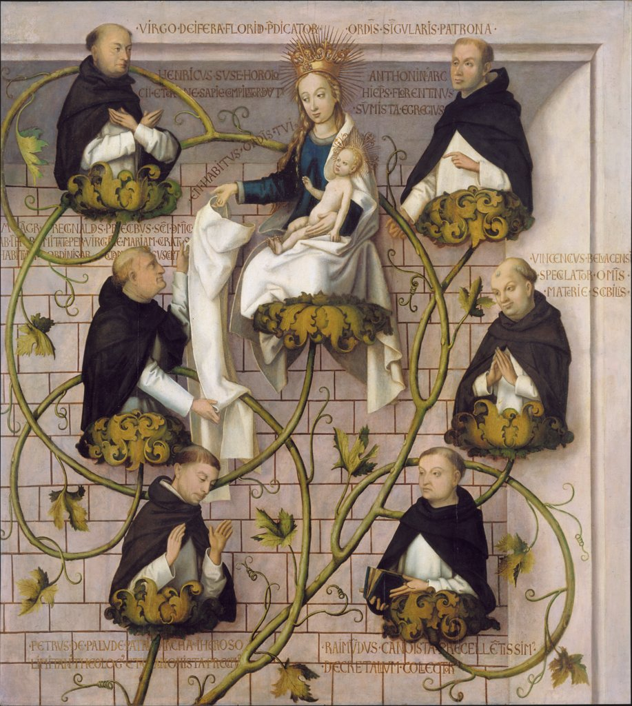 Lineage of the Dominican Order, Hans Holbein the Elder
