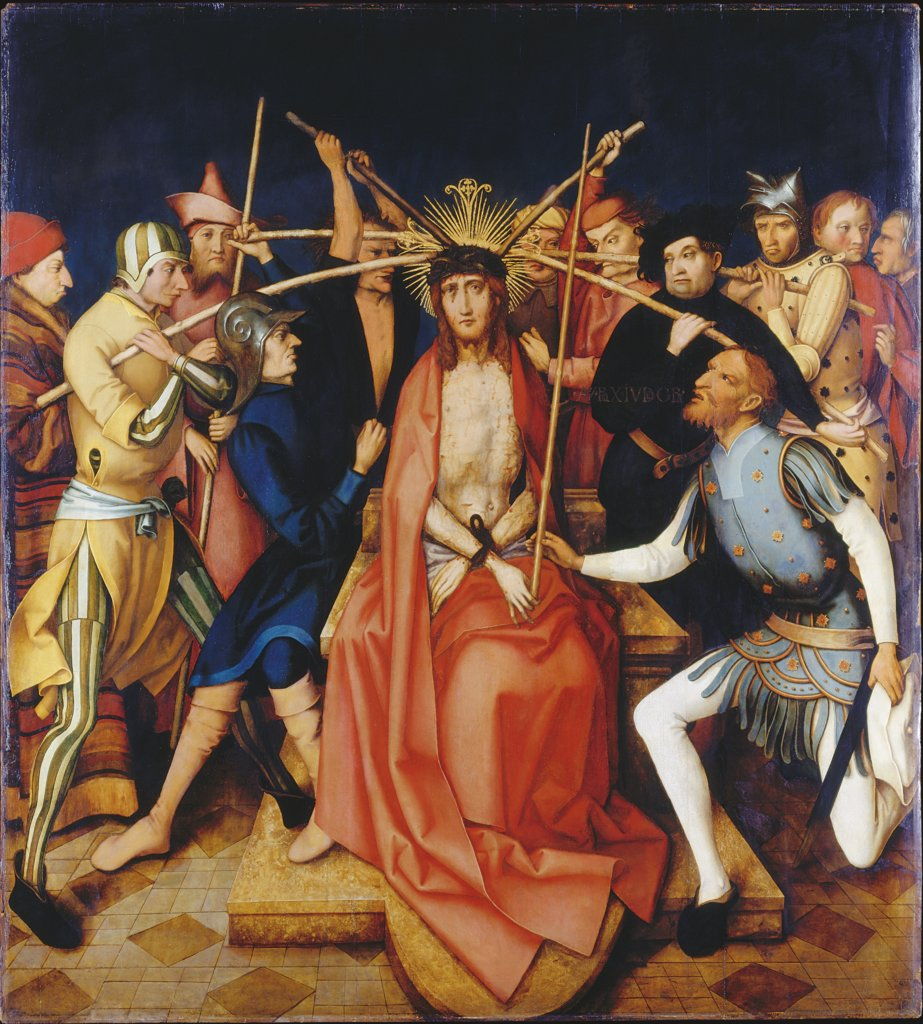 Christ Crowned with Thorns, Hans Holbein the Elder