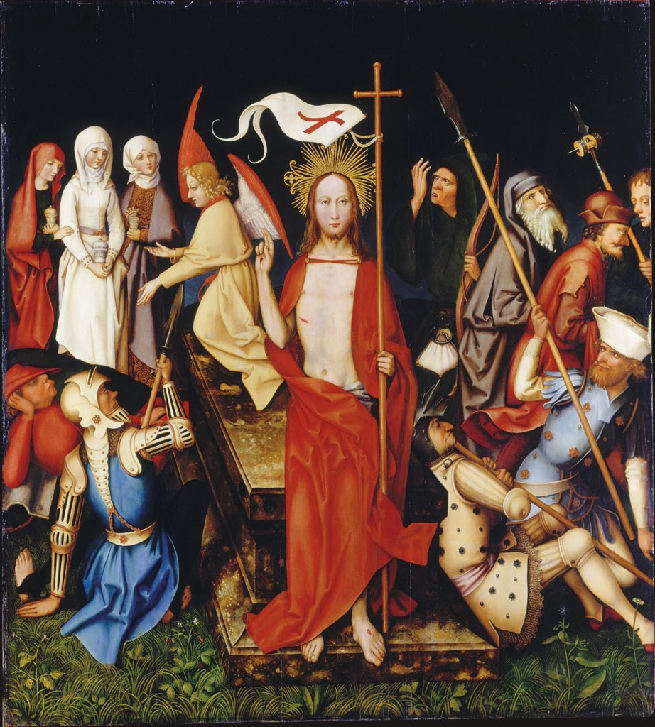 Resurrection, Hans Holbein the Elder