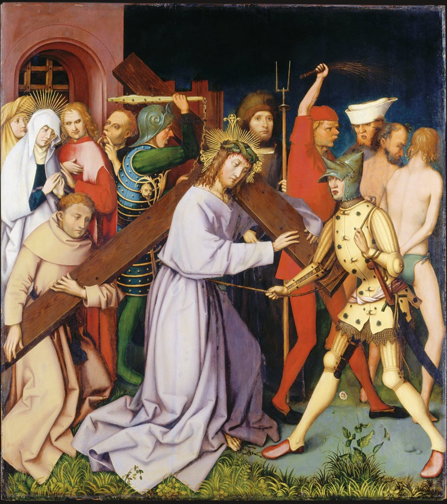 Bearing of the Cross, (Entombment Destroyed), Hans Holbein the Elder