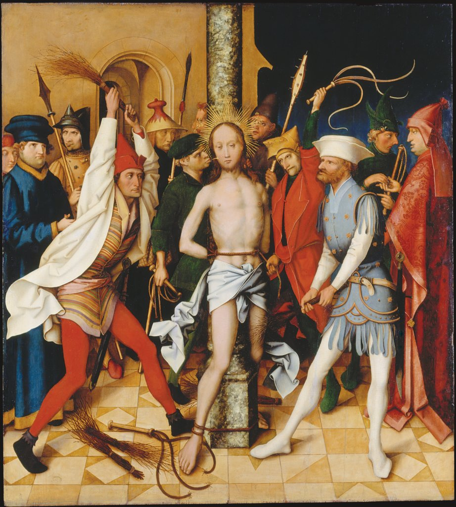 Flagellation, Hans Holbein the Elder