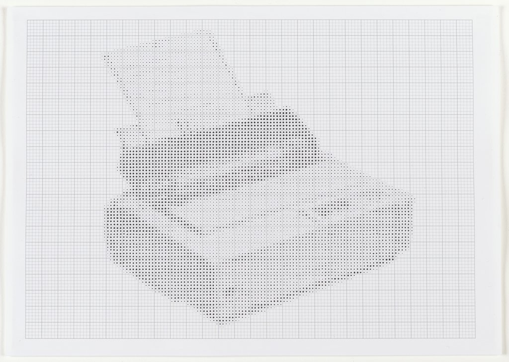 "Tally Genicom LA36N (aus der Folge ""Dot Drawings of Dot Matrix Printers""), James Brooks"