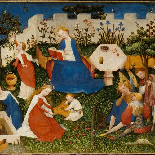 The Little Garden of Paradise, Upper Rhenish Master ca. 1410/20
