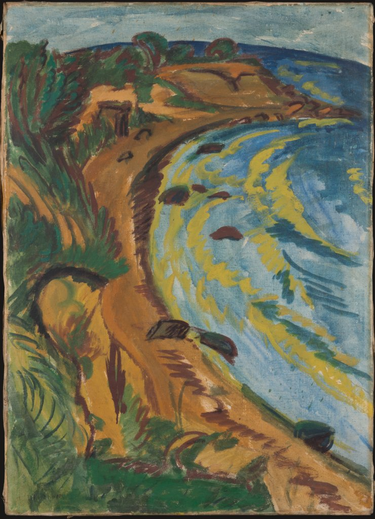 Bay on the Coast of Fehmarn, Ernst Ludwig Kirchner