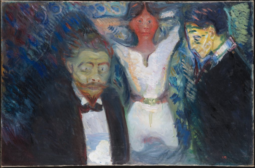 Jealousy, Edvard Munch