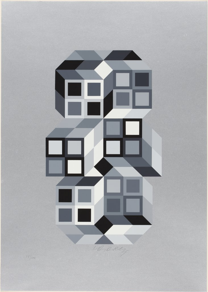 Tridimarg, Victor Vasarely