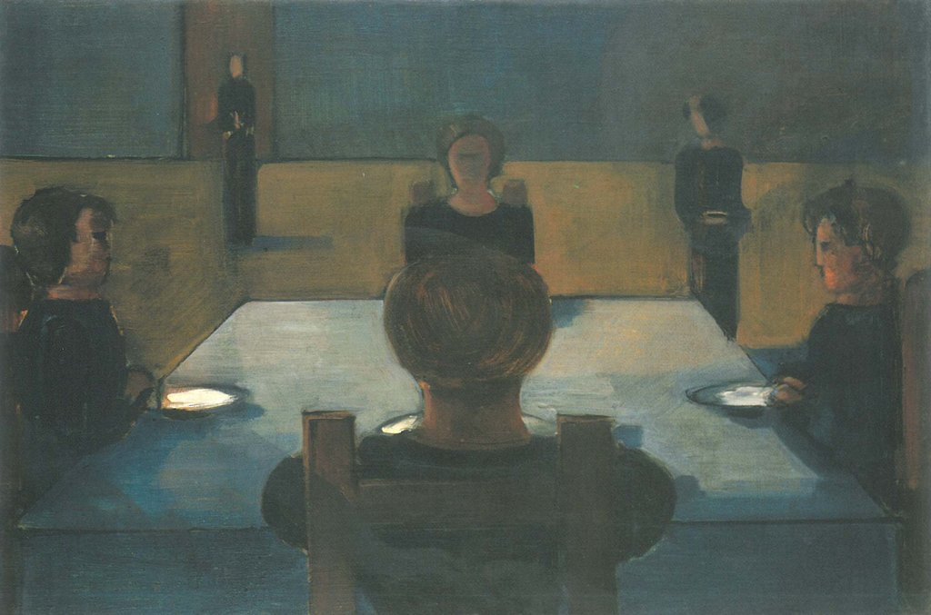 Dinner Party, Oskar Schlemmer