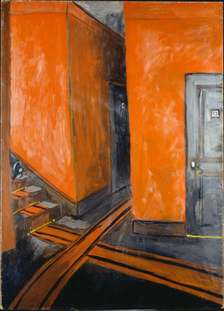Hotel Corridor, Auguste Chabaud