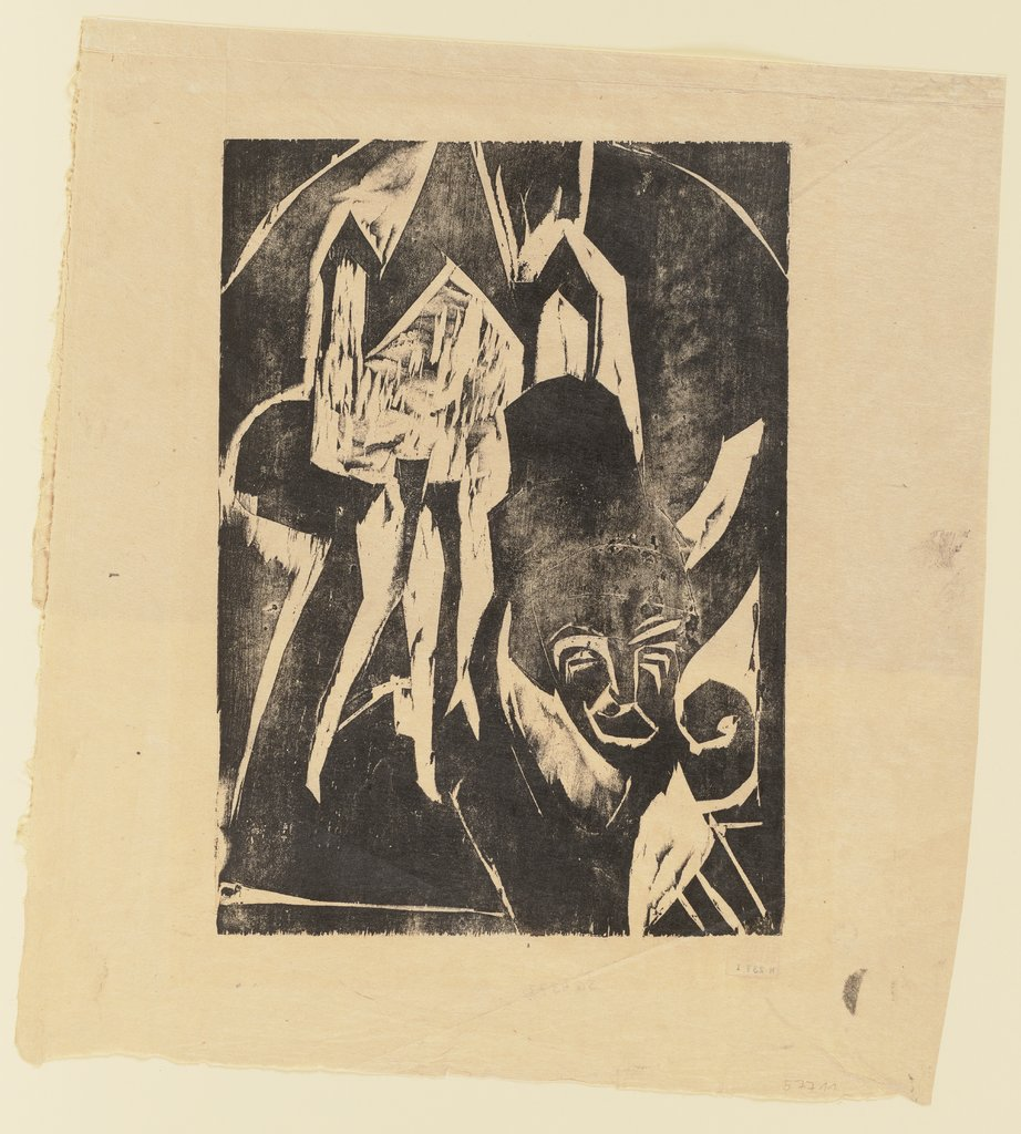 Cocotte on the Street, Ernst Ludwig Kirchner