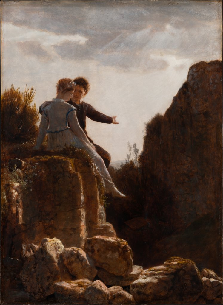 The Honeymoon, Arnold Böcklin