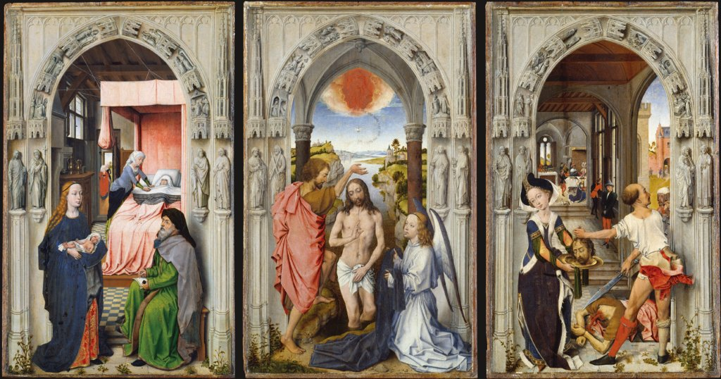 St. John Altarpiece (after Rogier van der Weyden), Dutch Master around 1510, after Rogier van der Weyden