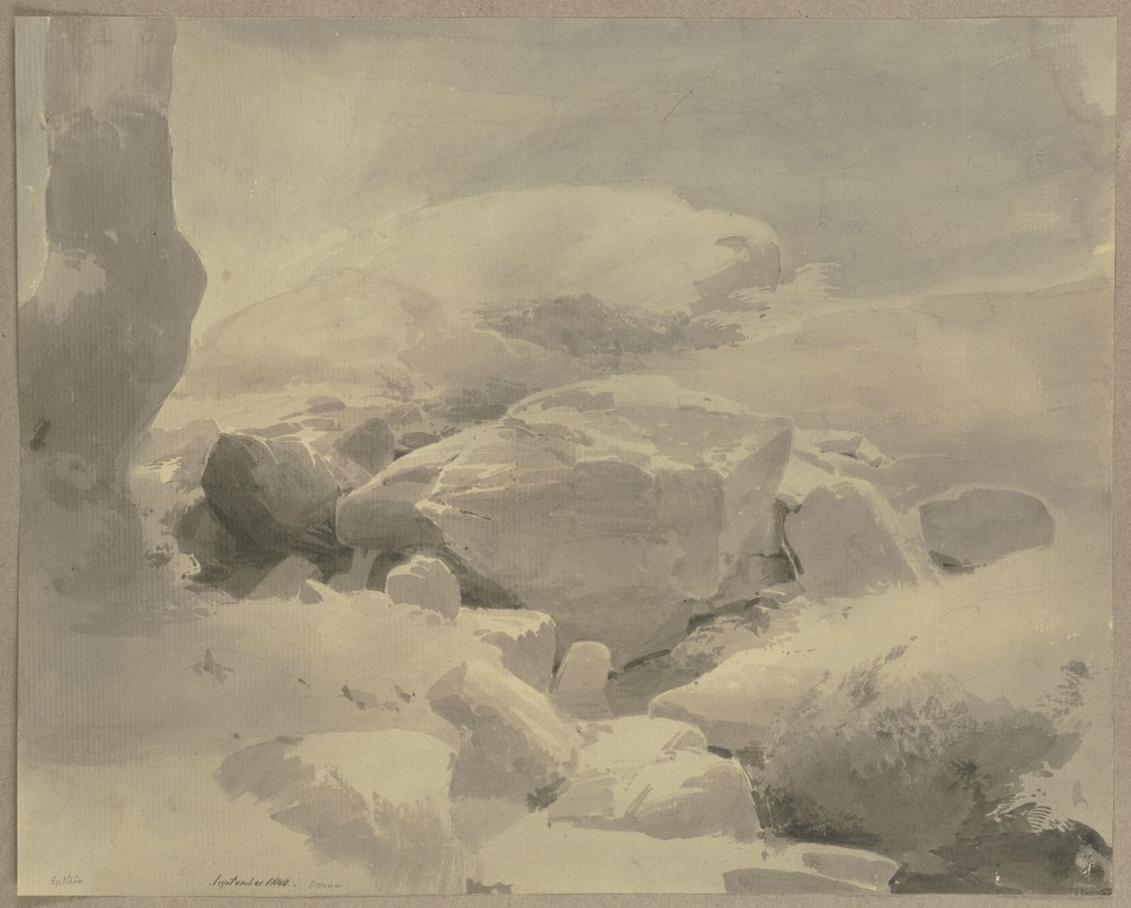 Rocks near Eppstein, Carl Theodor Reiffenstein