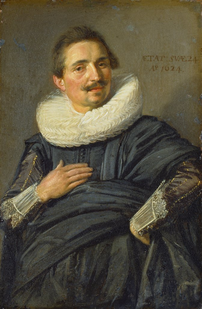 Portrait of a Young Cavalier, Frans Hals  workshop