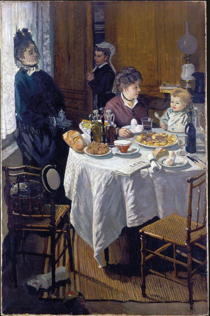 The Luncheon, Claude Monet