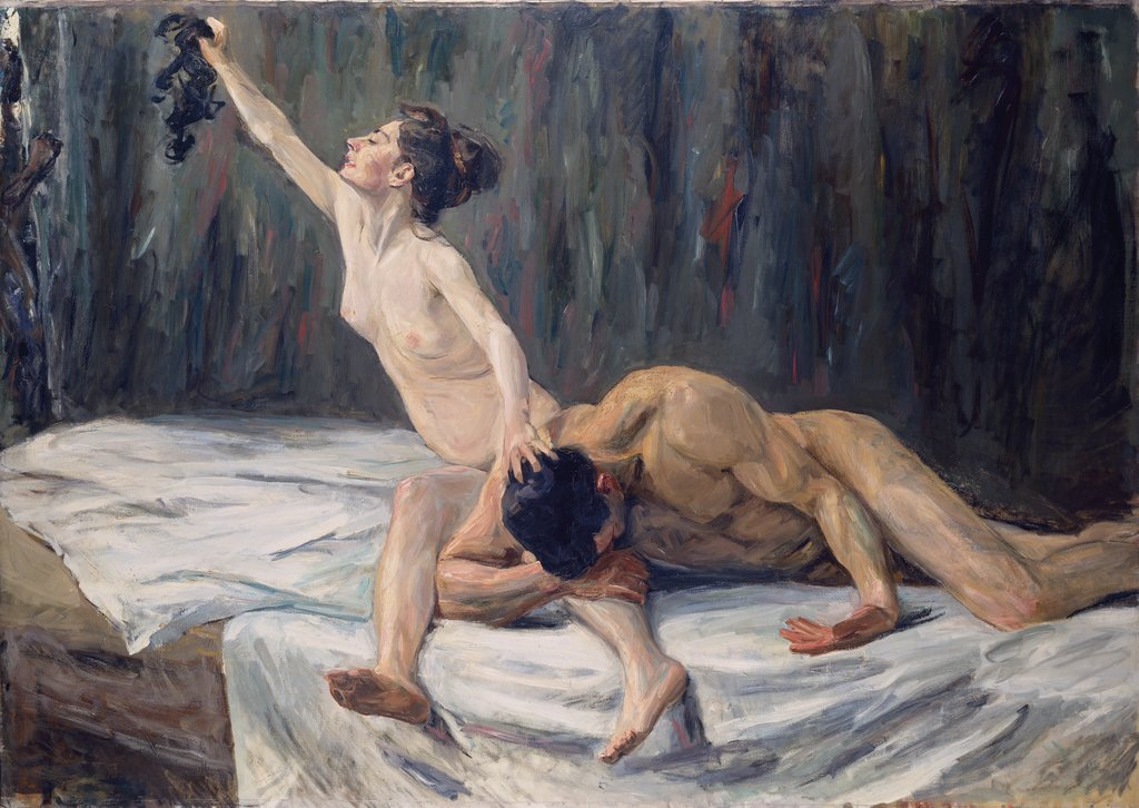 Samson and Delilah, Max Liebermann