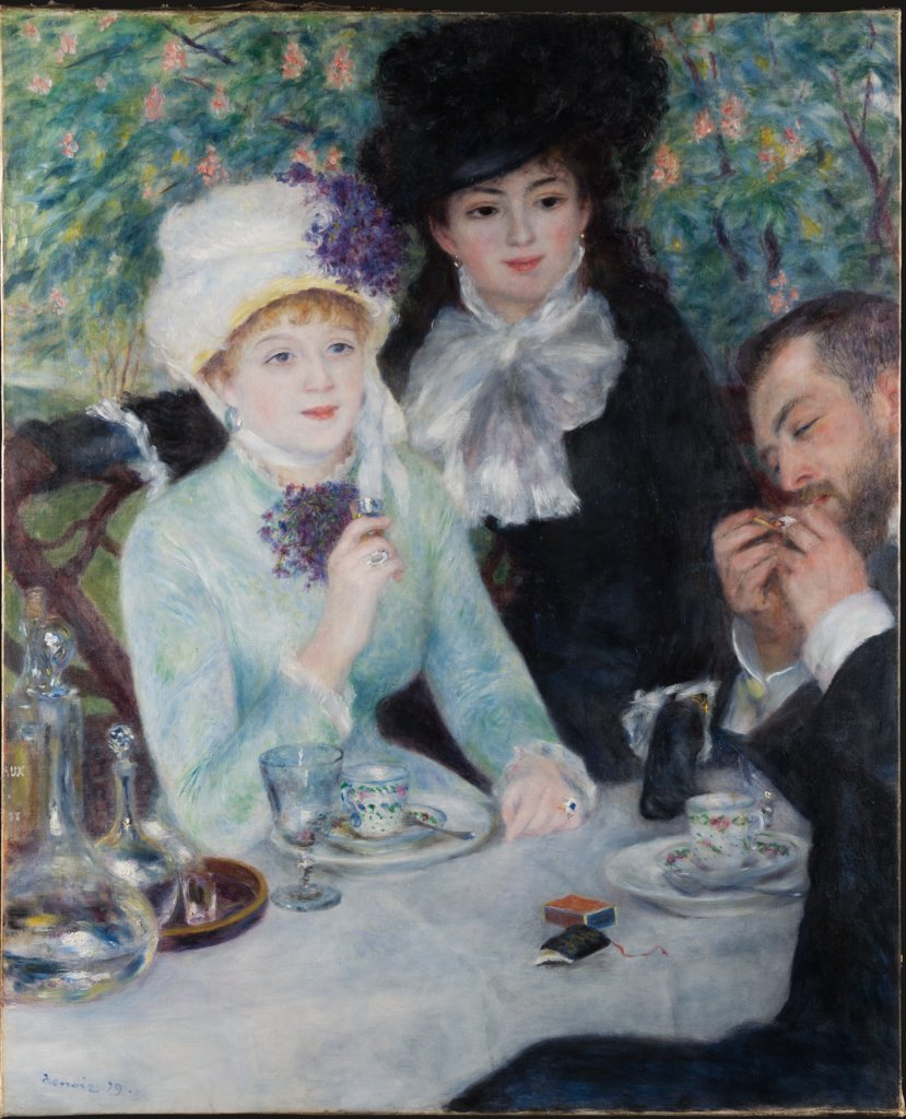 After the Luncheon, Auguste Renoir