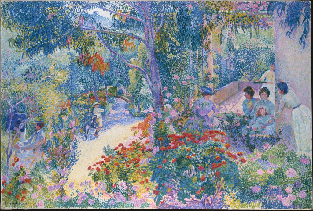 Afternoon in the Garden, Henri Edmond Cross