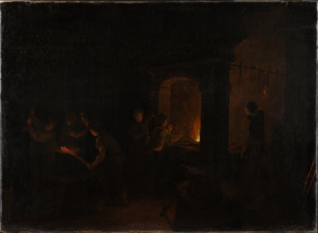 Interior of a Forge, J. Reichenbach   ?