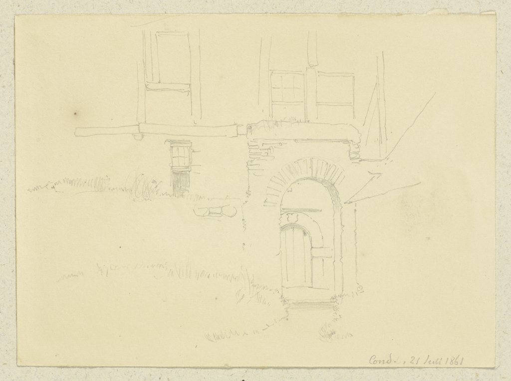 Group of buildings in Cond, Carl Theodor Reiffenstein