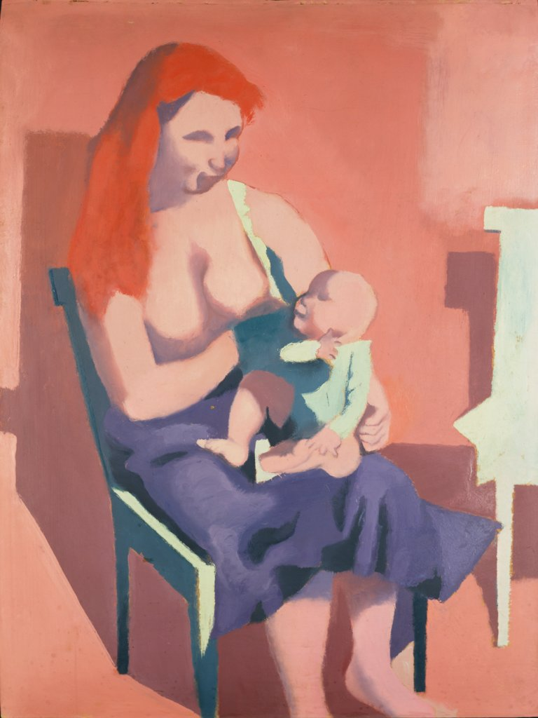 Mother and Child, Reinhold Ewald