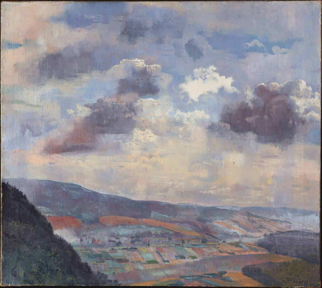 Landscape with Lofty Sky, Reinhold Ewald