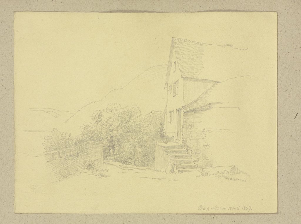House near Nassaw, Carl Theodor Reiffenstein