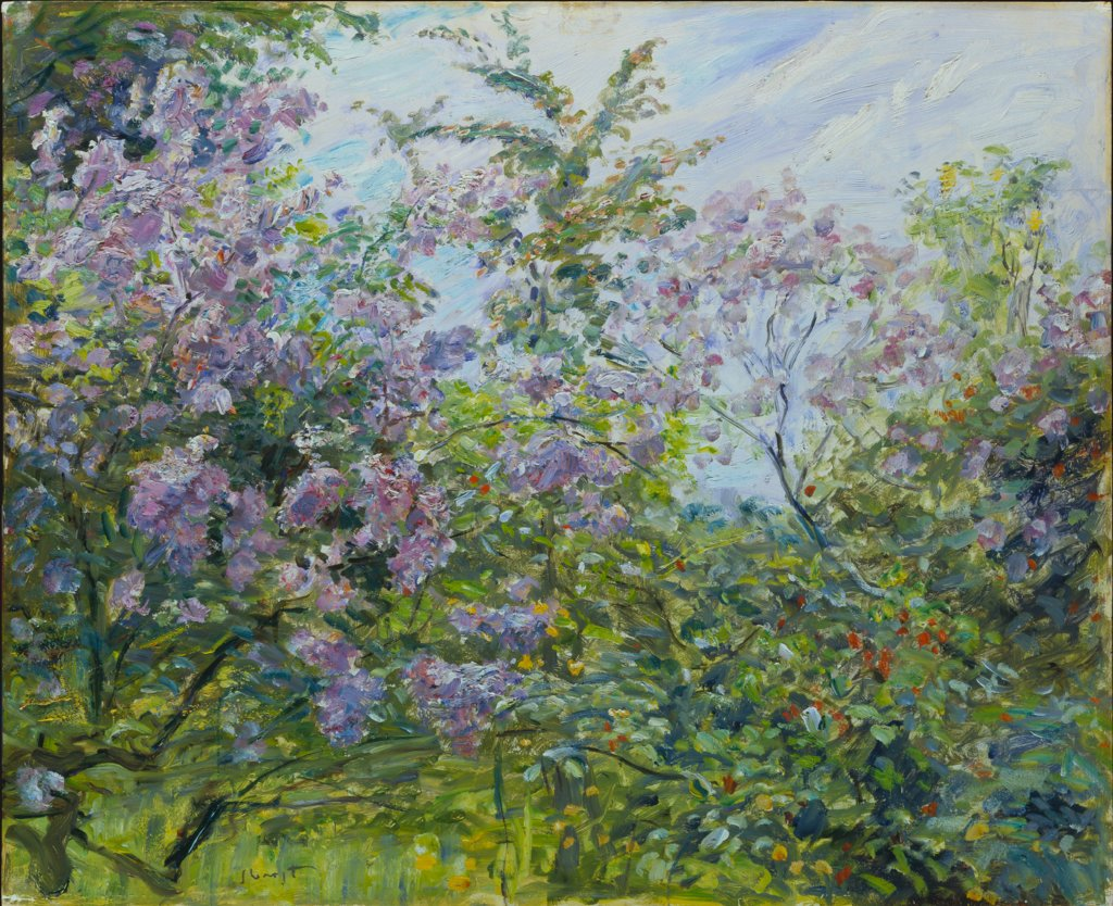 Blossoming Lilac, Max Slevogt