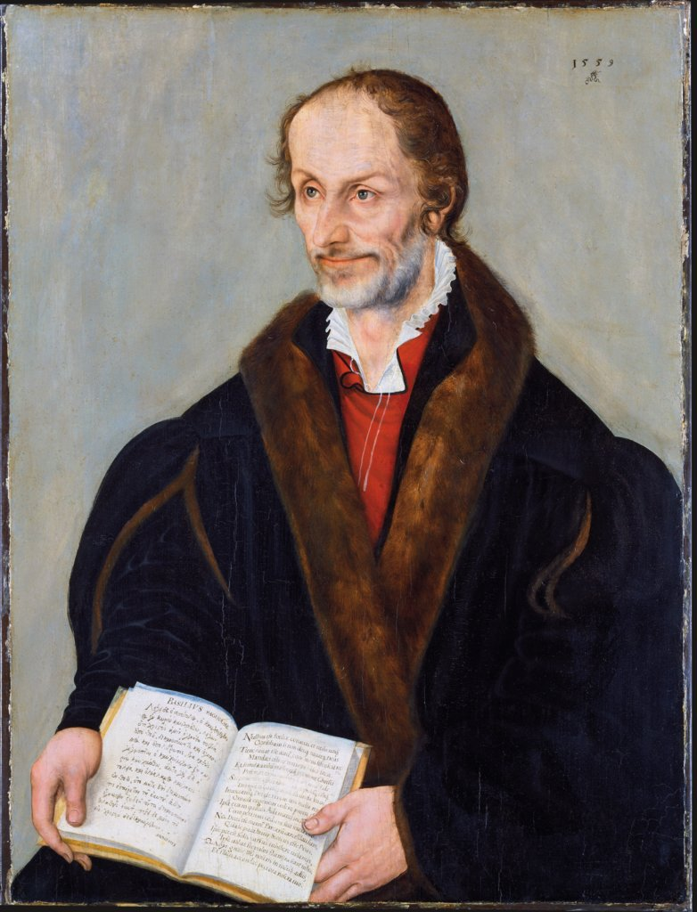 Portrait of Philipp Melanchthon, Lucas Cranach the Younger