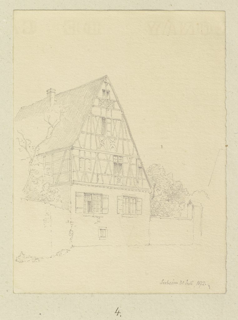 House in Seeheim, Carl Theodor Reiffenstein